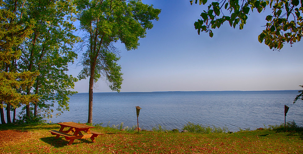 Big rock resort leech lake walker minnesota your for Leech lake fishing resorts