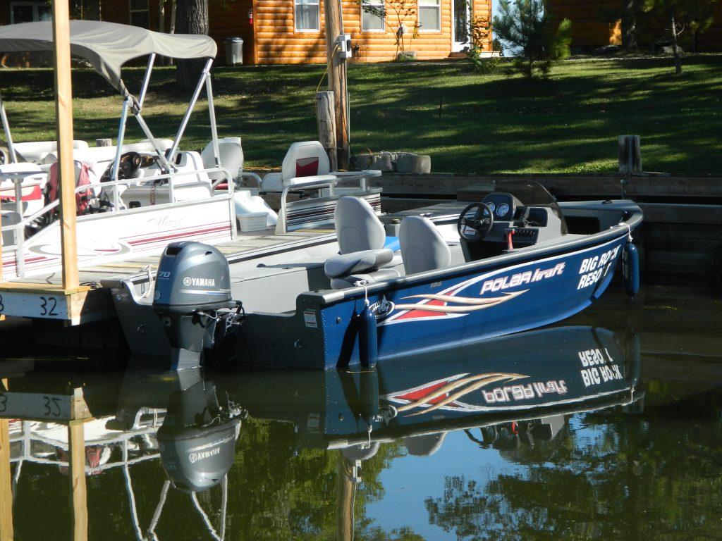 Boat rentals big rock resort leech lake minnesota for Fishing boat rental mn