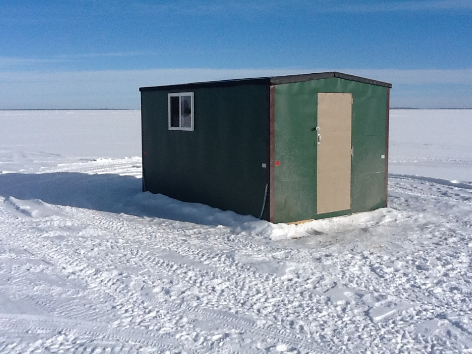 leech lake ice fishing big rock resort leech lake